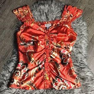 MKM designs blouse size medium